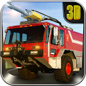 Airport Rescue Truck Simulator icon