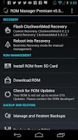 Screenshot of ROM Manager (Premium)