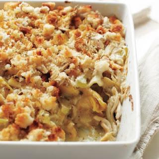 Chicken-and-Artichoke Lasagna.