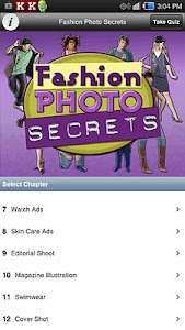 Fashion Photo Secrets screenshot 0