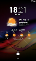 Screenshot of Chronus: MIUI Weather Icons