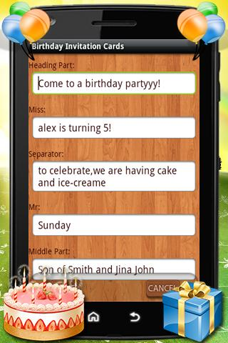 Free text message birthday invitations fieldstation free text message birthday invitations stopboris Image collections