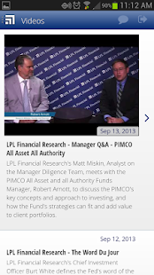 LPL Financial Mobile - screenshot thumbnail