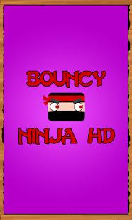Bouncy Ninja- miniatura screenshot