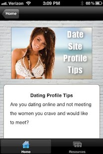 Guys Date Site Profile Tips- screenshot thumbnail