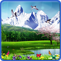 Spring Butterflies Wallpaper icon