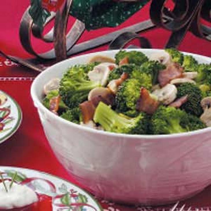 Mushroom Broccoli Medley Recipe