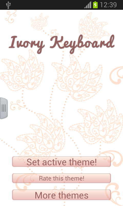 Ivory Keyboard - screenshot