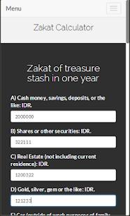 Lets Zakat Screenshot 2