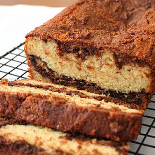 Nutella Swirl Tea Loaf