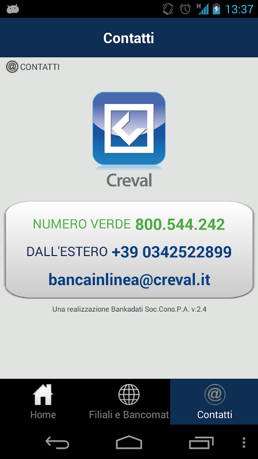 CrevalApp - screenshot