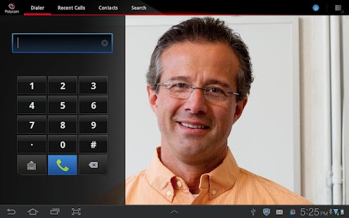 RealPresence Mobile - Tablet - screenshot thumbnail