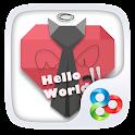Hello World GO Launcher Theme icon