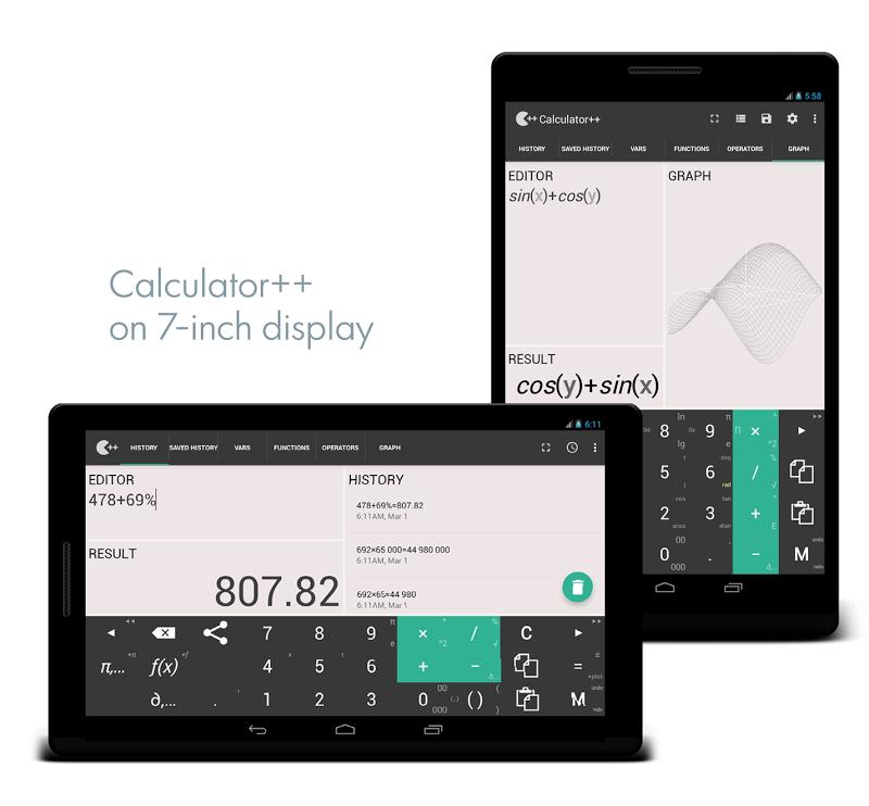 Calculator ++ Screenshot 6
