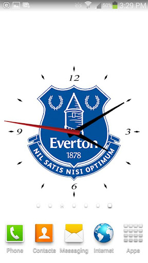 Everton FC Analog Clock
