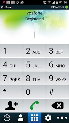 VozFone Dialer - screenshot
