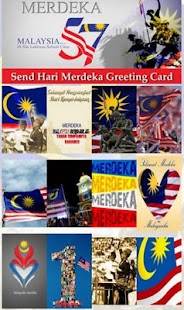Merdeka Greeting Card