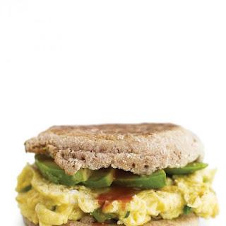 Egg-and-Avocado Sandwich.