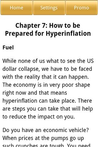 Hyperinflation - screenshot