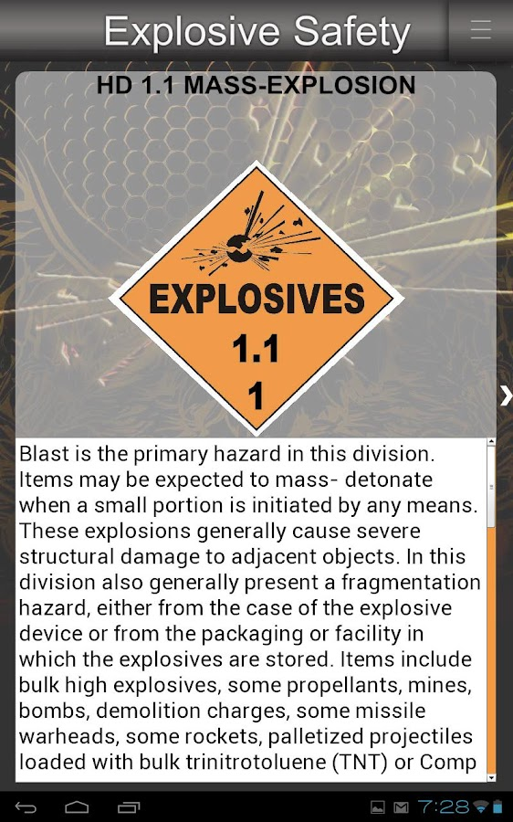 Explosive Safety - screenshot