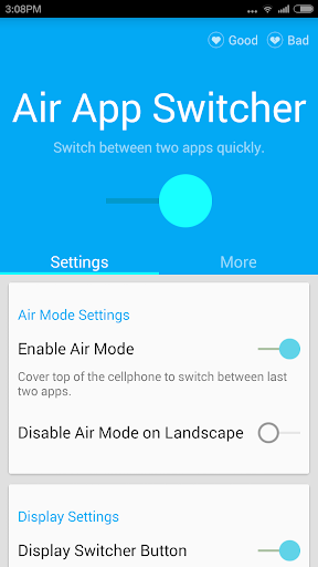Air App Switcher