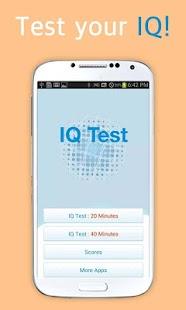 IQ測試程序。