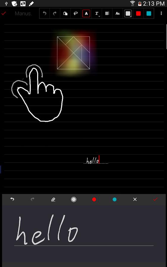 FreeNote 7 - screenshot