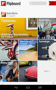Flipboard - screenshot thumbnail