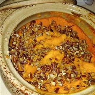 Orange-Ginger Sweet Potato Casserole.