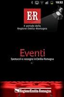 Screenshot of Eventi E-R
