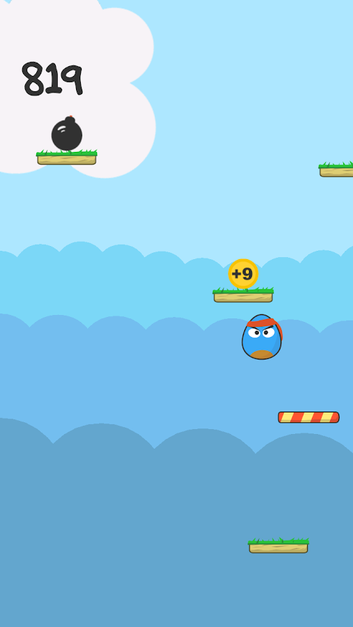 Bouncy Egg - screenshot