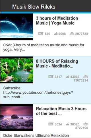 Musik Slow Rileks
