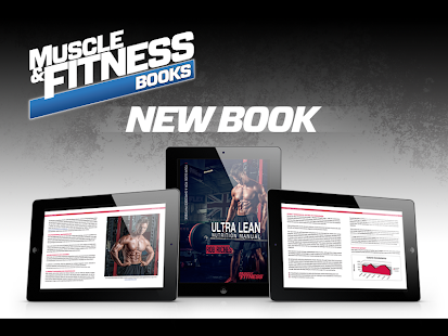 MUSCLE AND FITNESS BOOKS Fitness app screenshot for Android