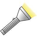 Simple torch icon