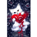 Love cat Live wallpapers icon