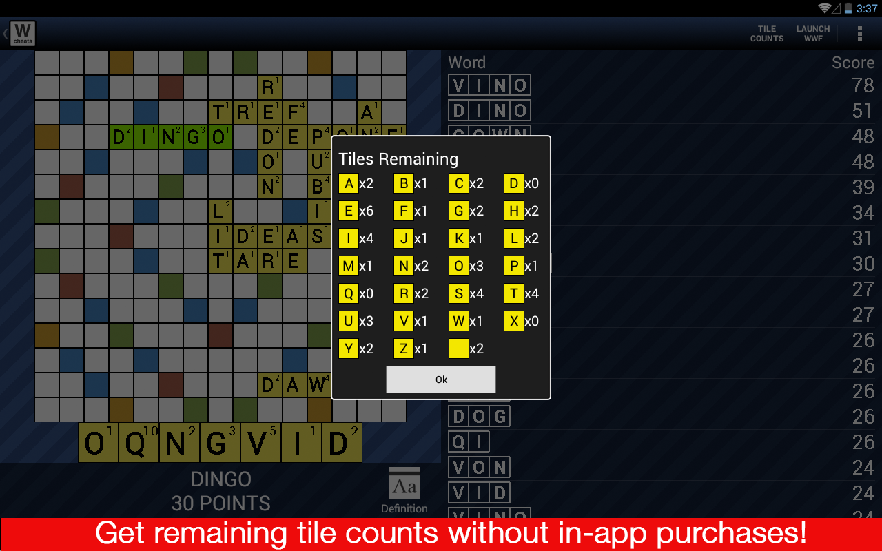 apk share: scrabble cheat board words with friends