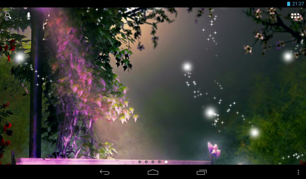 Fireflies Live Wallpaper Android Apps On Google Play