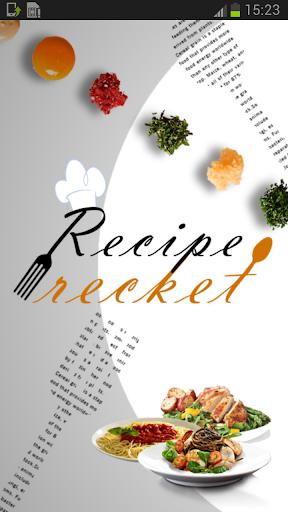 Recipe Recket