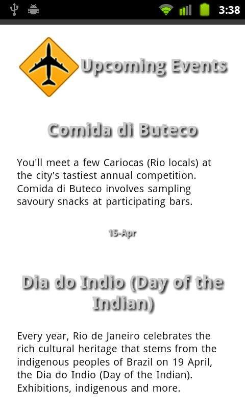 Brazil Travel Guide- screenshot