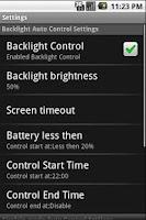 Screenshot of Power Saver