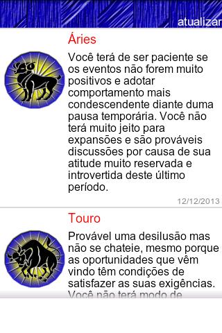 Horóscopo pessoal Portugal