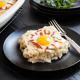 Gluten Free Eyeball Breakfast Casserole
