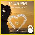 Lock Screen (live heart) icon