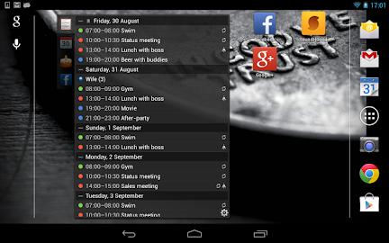 All-in-One Agenda widget Screenshot 13