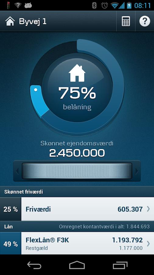 Mobilbank DK - screenshot
