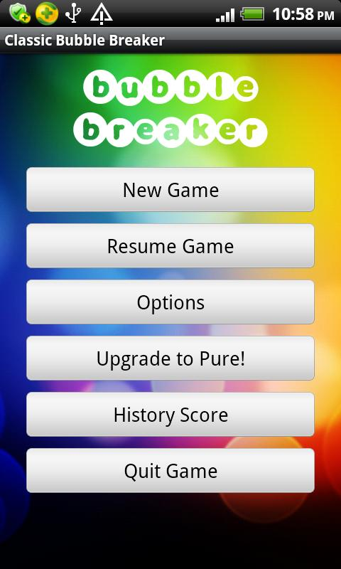 Classic Bubble Breaker(free) - screenshot