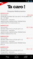 Screenshot of Preços de Medicamentos