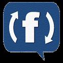 FB Status Shuffle icon