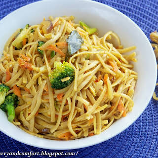 Asian Noodles With Vegetables Recipes.