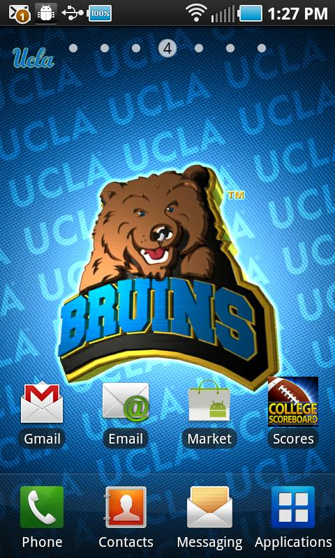 UCLA Revolving Wallpaper - screenshot